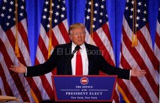 Trump dijo que podría levantarle las sanciones a Rusia