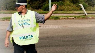 Refuerzan los controles viales en rutas santafesinas por el cambio de quincena