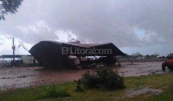 Providencia otra localidad afectada por el temporal