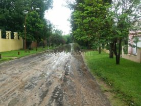 Villa California después de la lluvia