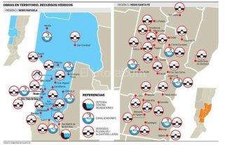 Santa Fe invierte $ 1.700 millones en obras para reducir riesgo hídrico