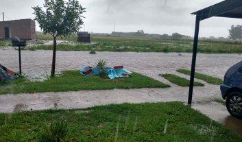 Arroyo Seco: por las lluvias se inundó el centro de evacuados