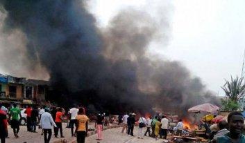 Cuatro muertos y 17 heridos en un atentado suicida