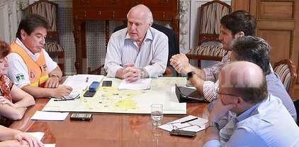 Lifschitz encabezó una nueva reunión del Comité de Emergencias