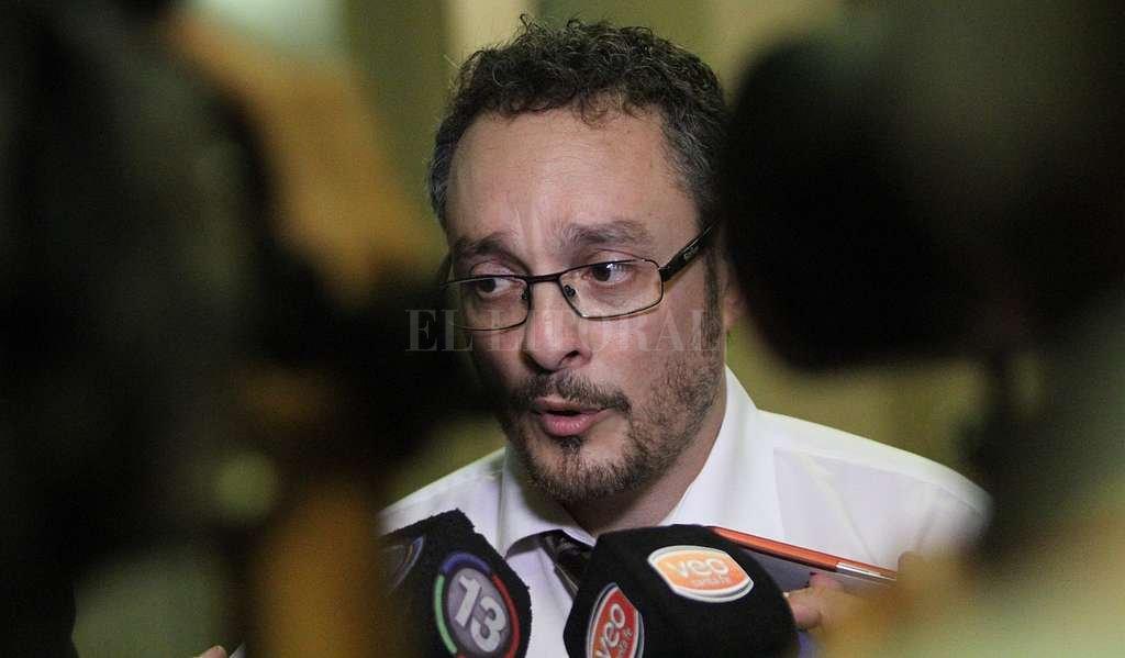 Fiscal Omar De Pedro. Crédito: Pablo Aguirre