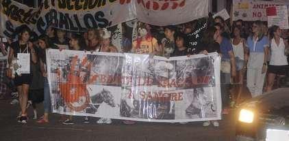 Marcha contra el maltrato animal -