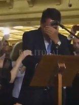 Melconián dejó el Banco Nación a lágrima viva