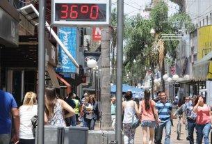El calor se apodera la ciudad