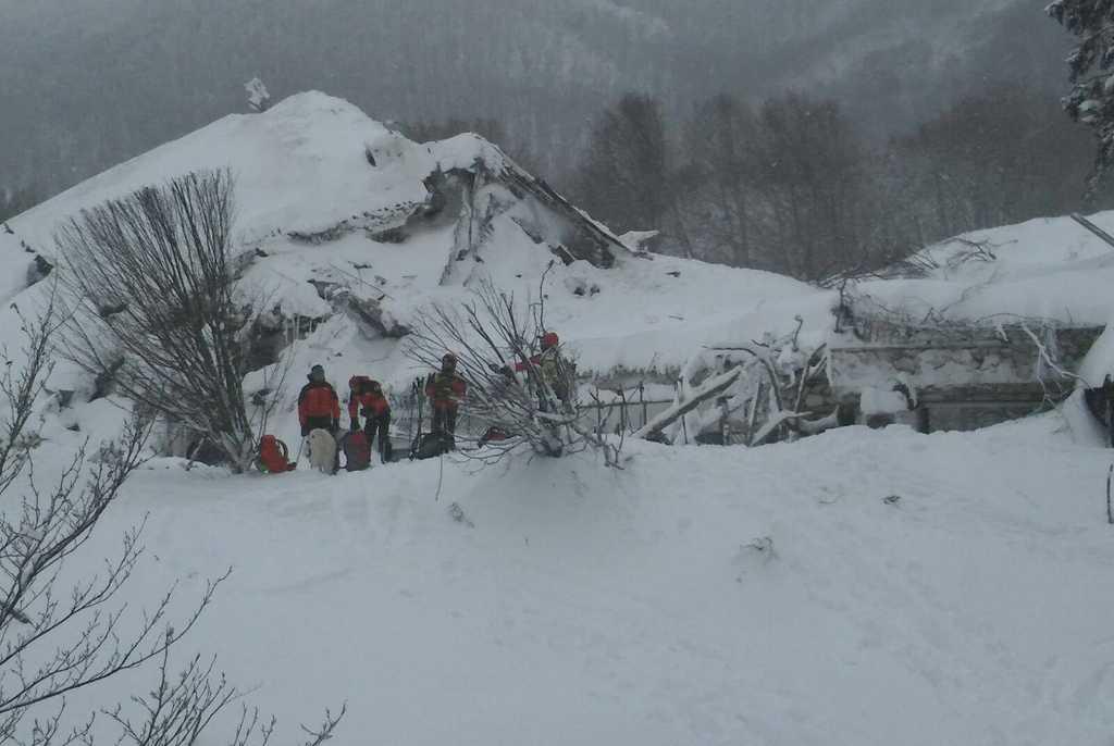 Crédito: Facebook CNSAS Piemonte - Soccorso Alpino e Speleologico Piemontese