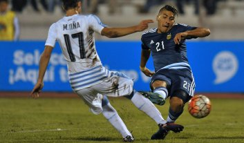 Argentina empató con Uruguay