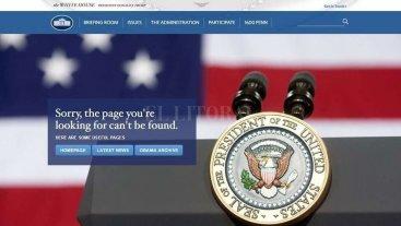 La web de la Casa Blanca ya no tiene su versión en español