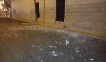 Derrumbe y desalojo en el Archivo General de la Provincia -  -