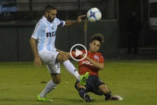 Racing goleó a Independiente