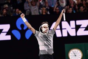 Federer se metió en semifinales del Abierto de Australia