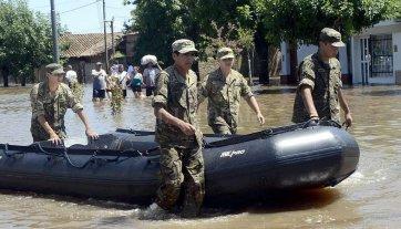 Créditos y subsidios para familias afectadas por las inundaciones