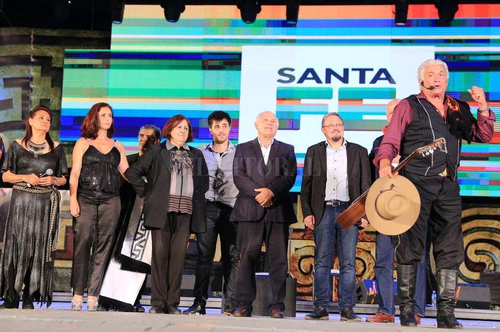 La delegación de Santa Fe en el Festival de Cosquín. Gustavo Villordo - Ministerio Innovación y Cultura Santa Fe