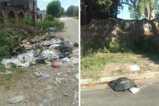 Vecinos reclaman por recolección de basura