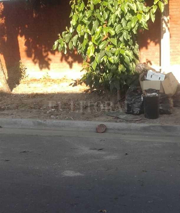 La zona de Avellaneda al 3900, en barrio Candioti Norte Periodismo Ciudadano / WhatsApp