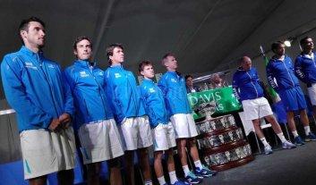 Copa Davis: Pella abre la serie ante Italia