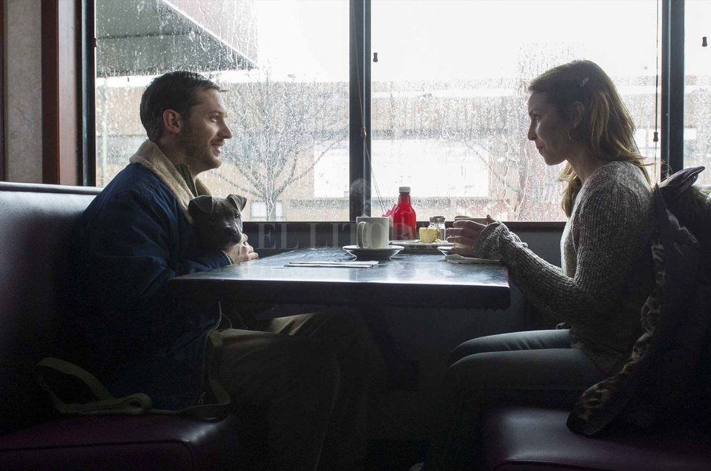 """""""La entrega"""" (""""The Drop""""), filme protagonizado por Tom Hardy, James Gandolfini y Noomi Rapace.  Gentileza Fox Searchlight Pictures"""