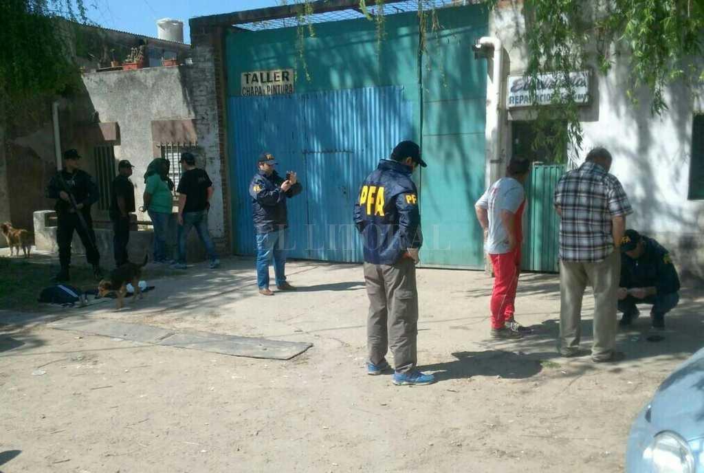 El 21 de septiembre la Policía Federal de Reconquista detuvo en Santa Fe a un policía de la URI y un narco cuando intercambiaban 300 gramos de cocaína por $ 30.000. <strong>Foto:</strong> Archivo El Litoral