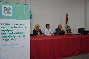 Se realizó el Concurso de Titularización de Equipos Socioeducativos