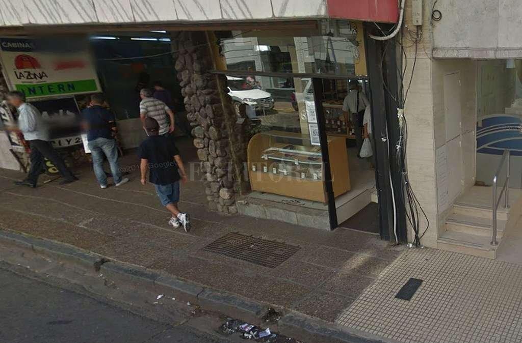 Frente de la panadería clausurada. <strong>Foto:</strong> Captura digital Google Maps Street View