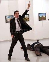 El asesino del embajador ruso en Turquía