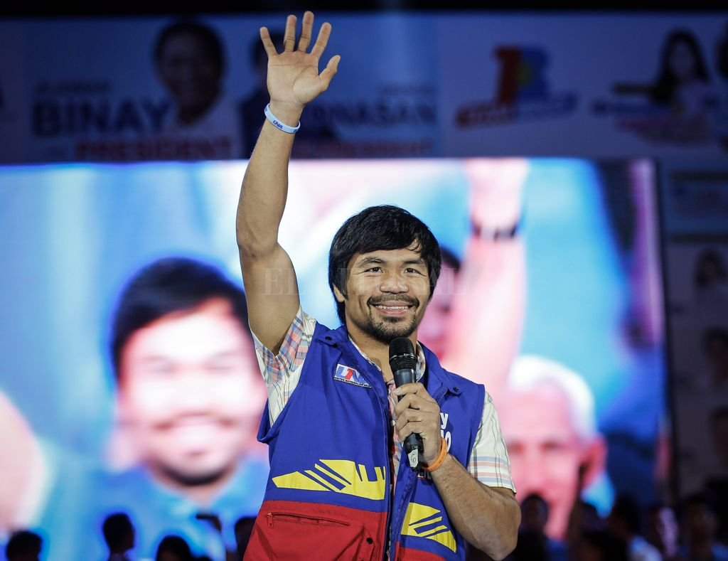 Manny Pacquiao <strong>Foto:</strong> Archivo El Litoral