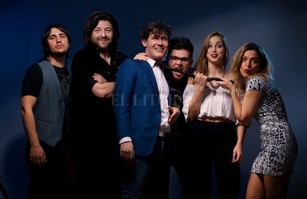"""Matt """"Hungo"""" Funky Hot Band es un proyecto alternativo del guitarrista líder de Astro Bonzo junto a jóvenes y grandes músicos de Santa Fe, Santo Tomé y Paraná. Gentileza Producción"""