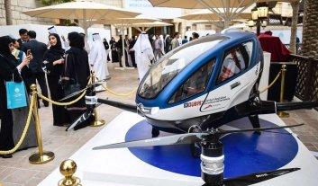 Dubai comenzará a a usar drones para transportar pasajeros