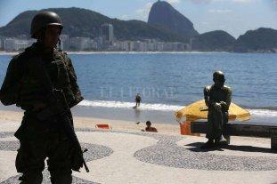 Río de Janeiro militarizada