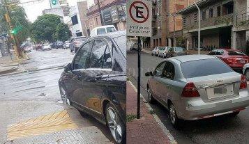 """Un conductor """"solidario"""" y otro ¿analfabeto?"""