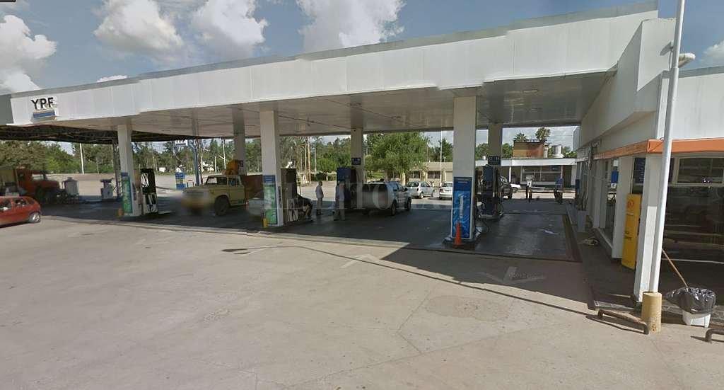 Estación YPF de Sunchales. Crédito: Captura digital Google Maps Street View