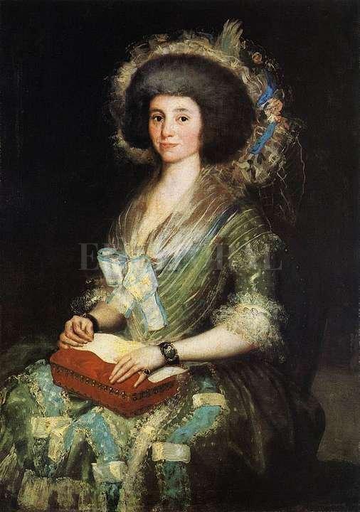 Una de las obras destacadas es el retrato de Manuela Camas, de Francisco Goya.  <strong>Foto:</strong> Archivo El Litoral