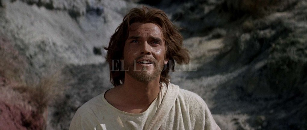 "Jeffrey Hunter en ""Rey de Reyes"".  Metro-Goldwyn-Mayer"