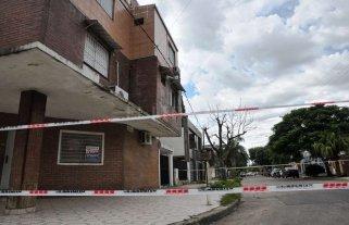 Peligro de derrumbe en un edificio de barrio Roma