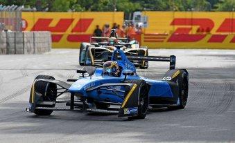 Sebastien Buemi ganó la carrera de Fórmula E en Puerto Madero