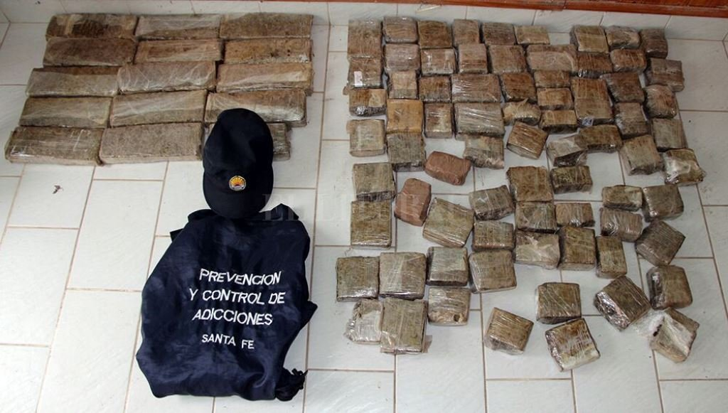 Secuestran 31 kilos de marihuana