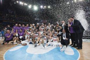 El Real Madrid, donde es figura el Chapu Nocioni, ganó la Copa del Rey