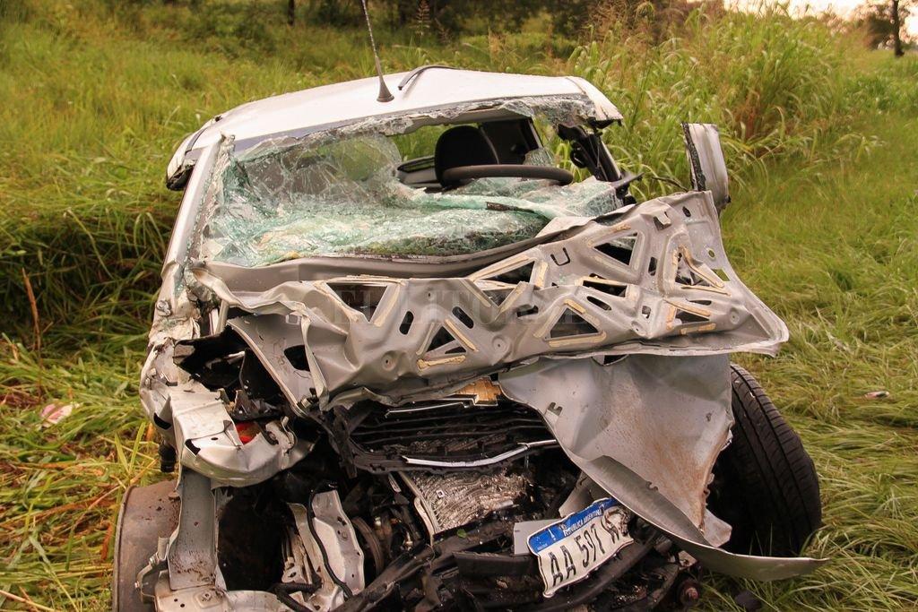 Los cinco integrantes de una familia que se trasladaban en un Chevrolet Agile murieron al chocar de frente con un BMW en Formosa