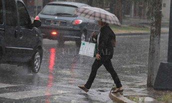 Alerta: lluvias y tormentas fuertes -  -