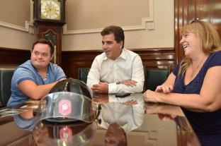 Alvaro Lafarge, el chico con Down que cumplirá su sueño de ser bombero