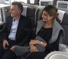 Macri llegó a España para una visita oficial