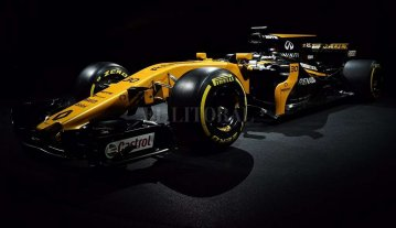 Renault presentó el F1 para la temporada 2017