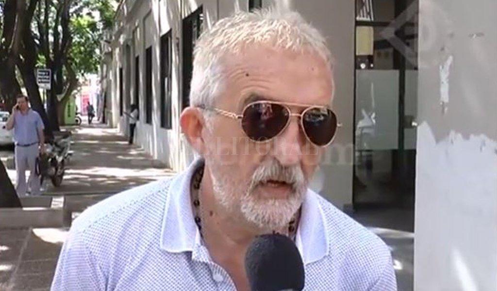 Raúl Gómez, padre del joven atropellado. <strong>Foto:</strong> Captura de video