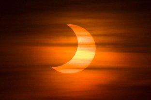 El domingo se producirá un eclipse parcial de Sol