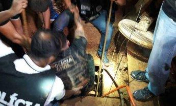"""Al estilo """"Chapo"""", descubren túnel para fugarse de una cárcel brasileña"""
