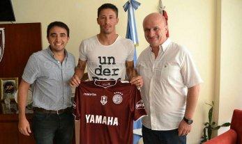 García Guerreño firmó con Lanús