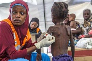 El hambre castiga duramente a África